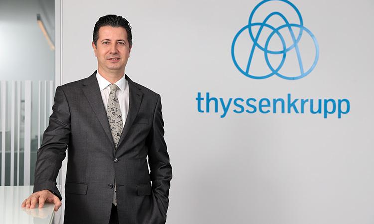 thyssenkrupp Asansör'ün CEO'su Artuğ Özeren